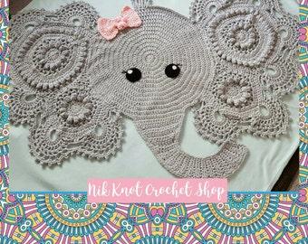 Elephant Rug/Blanket *made to order*