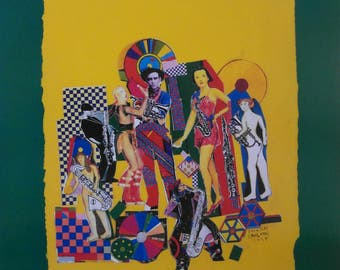 Original 1994 Eduardo Paolozzi Soho Jazz Festival Advertising Poster