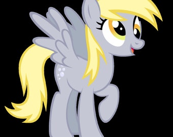 Derpy Hooves Plushie- MLP FIM Brony, Pegasister, Collectable, Cuddle, Birthday, Christmas, Party, Occasion,