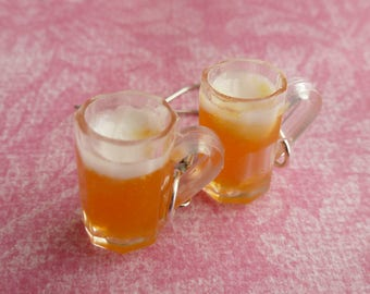 Beer Gifts Beer Mug Miniature Food Jewelry Food Jewelry Food Gifts Resin