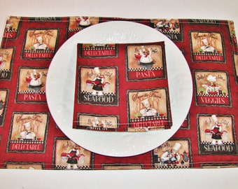 Fat Chef Placemats
