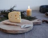 Handmade maple  cheese slicer norwejgn stainless steel