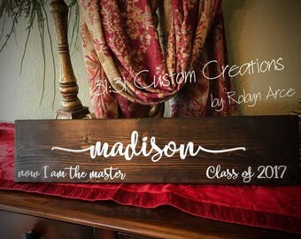 Special gift for graduate, Special Graduate, Born to Fly, Adventure Awaits, Now I am the Master, Graduation fun, Personalized for graduate