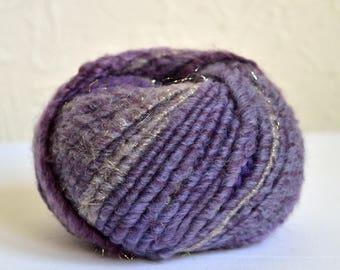 Italian splendid & bulky wool yarns, 50g / 1,76 oz balls