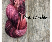 Red Red Wine - PRE ORDER - Simple Worsted - 100% SW Merino - 218 yds - 100g