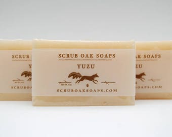 Handcrafted Yuzu Scented Soap Bar