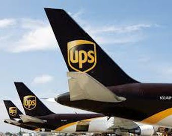 Upgrade to Courier with UPS or DHL