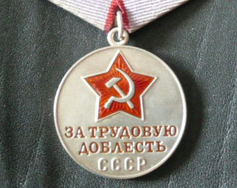 Medal For Labor Prowess (USSR awards)