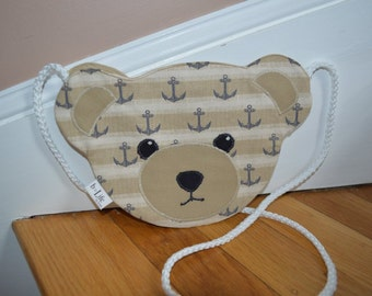 Kid's Teddy Bear Crossbody Bag, Handbag
