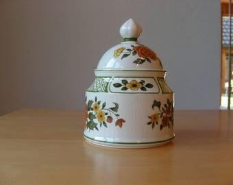 vintage Villeroy and Boch Summerday sugar bowl