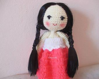 girl doll amigurumi crochet: diy,hamdmade,doll,crochet,amigurumi,toy,art,girlgoll
