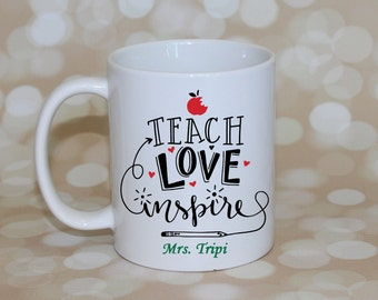 Teacher Gifts, Teacher Mug, Personalized Teacher Gift, Teacher Christmas Gifts, Gifts for Teachers, Teacher Gifts Personalized, Coffee Cup