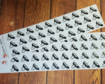 Tap Shoe Stickers for Lessons, Recitals and more! (70)