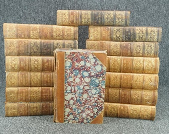 The New American Cyclopedia 14 Volume Set (Incomplete) C. 1863
