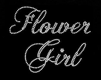 Custom Rhinestone Flower Girl / Bridal Party Apparel