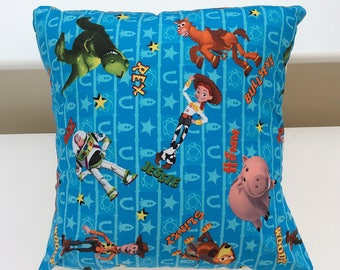 "Toy story cushion / 40.5cm envelope cushion with insert /  children's cushion / 16"" cushion covers / 16"" square cushion"