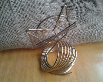 Cat Wire Coil Letter Holder Richard Galef