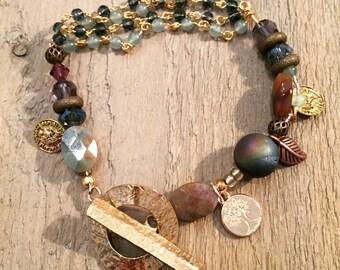 Boho beady bracelet 2