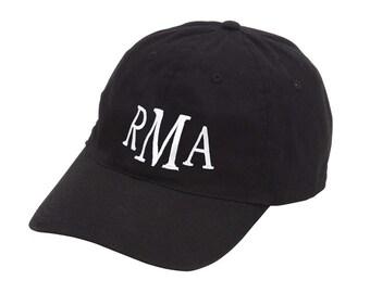 Monogrammed ball caps