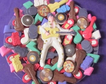 Elvis 50's chocolates candy tray