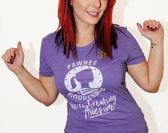 We're Freaking Awesome shirt.  American Apparel women's fitted tshirt, sizes small, meduim, large, and XL