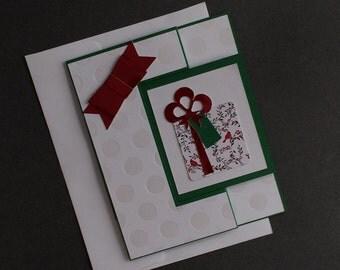 Christmas Giftcard Holder /Card
