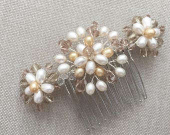 Beautiful vintage inspired bridal hair comb, vintage hair comb, bridal hair comb, wedding hair comb, wedding hair piece, bridal headpiece