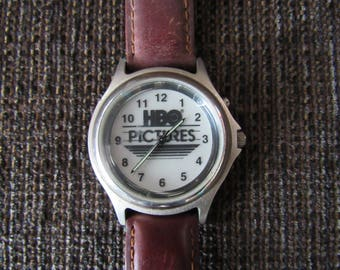 Vintage Sveda HBO Pictures Promo Watch Works Well Free Shipping
