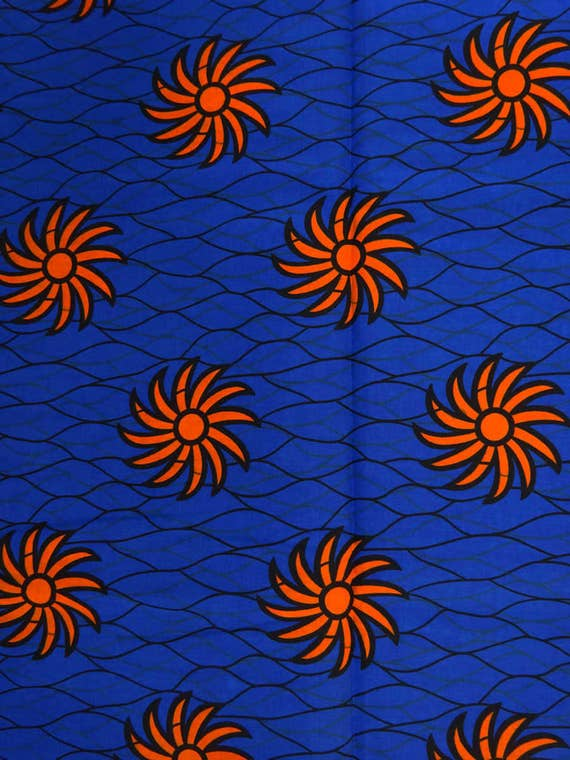 Ankara By The Yard African Print Fabric For African Print