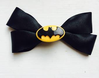 Batman hair clip