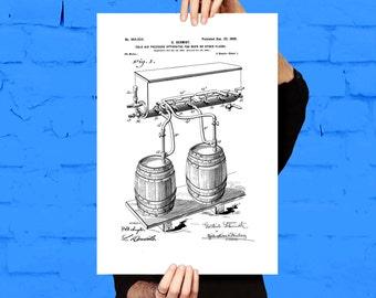 Adams Ale Art Prints Etsy