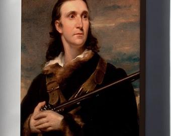 Canvas 16x24; John James Audubon By John Syme 1826