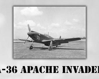 16x24 Poster; A-36 Apache Invader