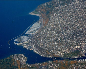 16x24 Poster; Aerial View Of Ballard, Seattle
