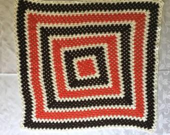 Crochet Throw Rug