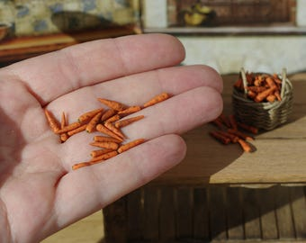 20 pieces of miniature carrot 1/12
