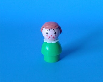"Fisher Price Little People "" #663 Freckle Girl "" 1970's"