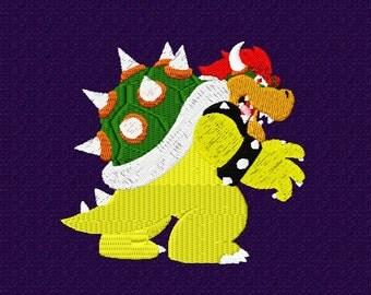 Super Mario Brothers Inspired Villain