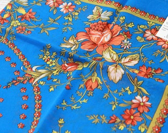 russian genuine shawl Pavlov Posad babouchka 65x65 cm new with tag