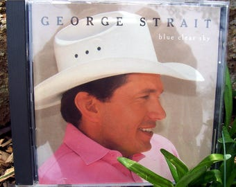 George Strait CD / Blue Clear Sky / Country music CD