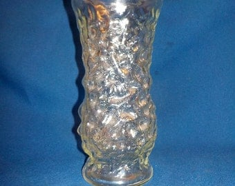 Vintage HOOSIER Glass Vase, 8 Inch