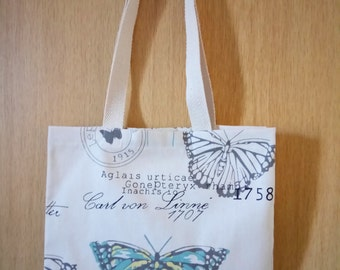 Butterfly Canvas Bag