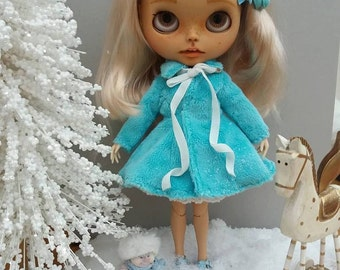 Plush coat for Blythe