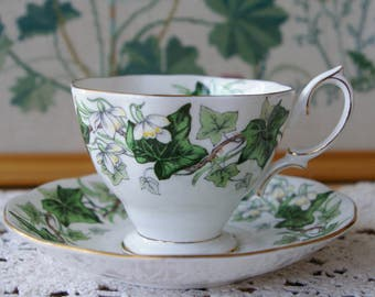 Royal Albert Vintage Ivy Lea Teacup and Saucer