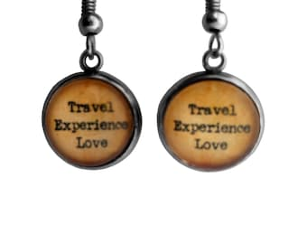 Travel Experience Love Earrings