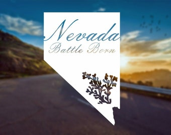 Nevada State Decal