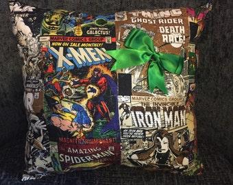Handmade Superhero Cushion