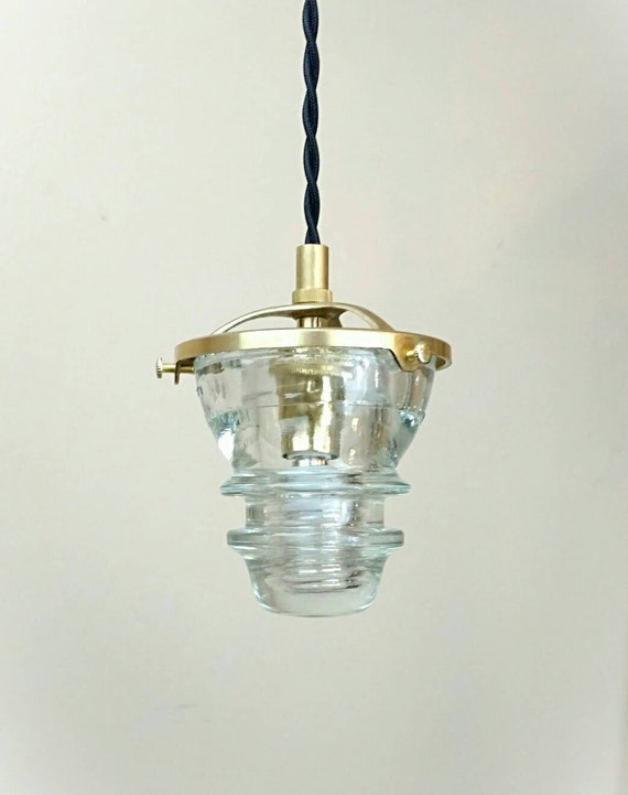 Insulator pendant light led glass insulator pendant light for Insulator pendant light