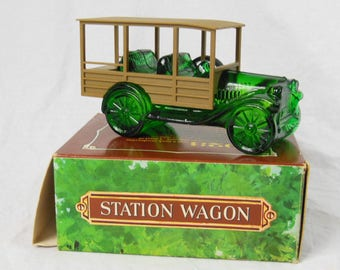 Vintage Avon Wild Country Shave 1923 Station Wagon, Wild Country After Shave