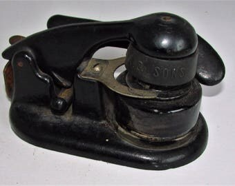 INKWELL One Handed Drafting? Very Cool and All Original Shown as Found Dusty